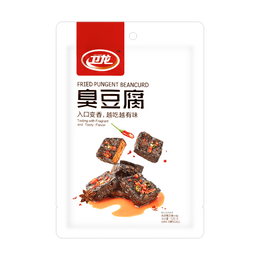 WL Fried Pungent Beancurd Spicy 120g