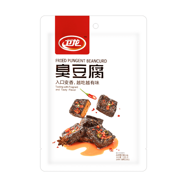 Product Detail - WL Fried Pungent Beancurd Spicy 120g - image 0