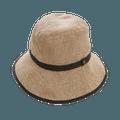 COGIT||PRECIOUS UV 宽帽檐可折叠防晒帽||自然色 头围56-58cm