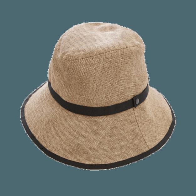 商品详情 - COGIT||PRECIOUS UV 宽帽檐可折叠防晒帽||自然色 头围56-58cm - image  0