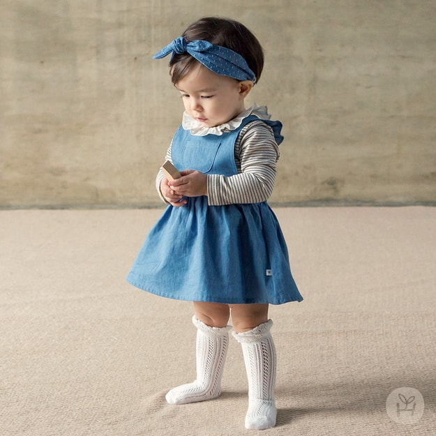Product Detail - HAPPY PRINCE Blanc Jumper Skirt 18-24 Months - image 0
