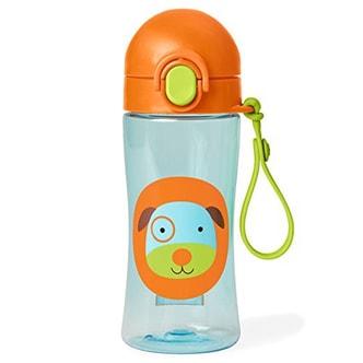 SKIP HOP Zoo Lock-Top Sports Bottle-- Dog