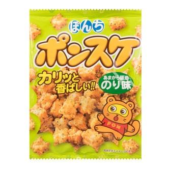 日本BONCHI 海苔脆米果 甜辣味 90g