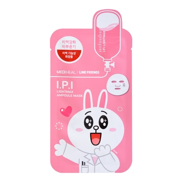 MEDIHEAL X LINE FRIENDS I.P.I Lightmax Ampoule Mask 1sheet