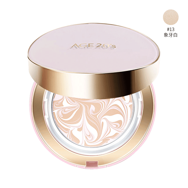 Product Detail - AGE 20\'S Signature Essence Cover Pact Moisture #13 Ivory SPF50+ PA+++ 14g*2 - image 0
