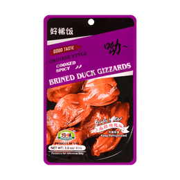 CHUNWEI SPICY BRINED DUCK GIZZARDS 85g