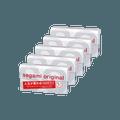 【五盒装】日本SAGAMI 幸福002 超薄安全避孕套 5片入*5