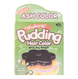 DONGSUNG PHARM EZN Shaking Pudding Hair Color 4.31 Ash Khaki