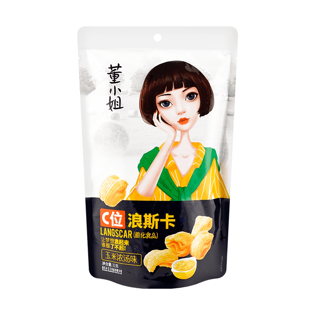 Product Detail - 【Clearance】DONGXIAOJIE Corn Chips Original Flavor 35g - image 0