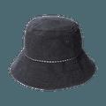 COGIT||抗UV牛仔布简约时尚渔夫帽||黑色 1个