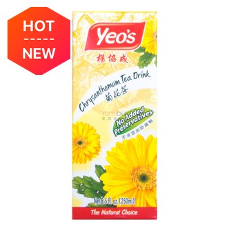 Yeo's Chrysanthemum Tea Drink 250ml