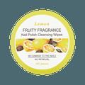 MINISO Nail Polish Cleansing Wipes Lemon Fragrance