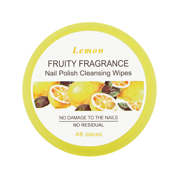 Product Detail - MINISO Nail Polish Cleansing Wipes Lemon Fragrance - image 0