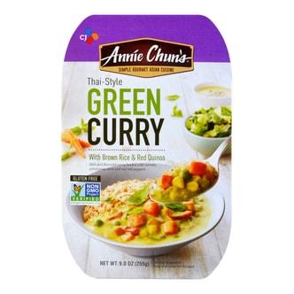 CJ Annie Chun's Thai-Style Green Curry with Brown Rice & Red Quinoa 255g