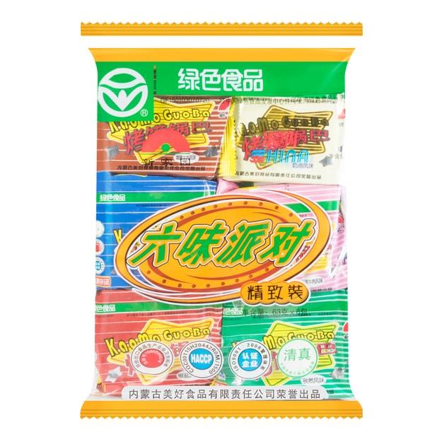 商品详情 - 新家园 六味派对 烤馍锅巴 6包入 378g - image  0