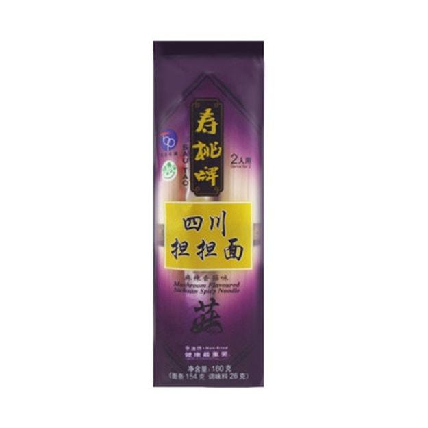 商品详情 - 香港寿桃牌 四川担担面 麻辣香菇味 2人用 160g - image  0