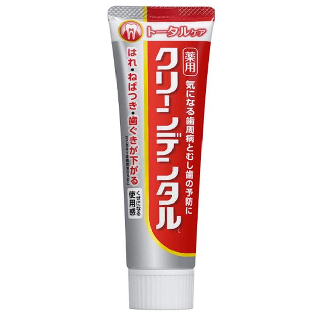 商品详情 - DHL直发【日本直邮】第一三共CLENADENTAL祛黄祛口气多效呵护牙膏 150g - image  0