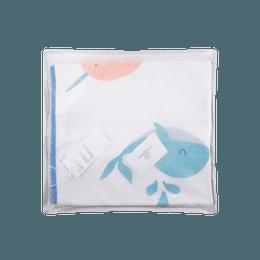 全棉时代 婴儿梭织印花凉席 120cm×65cm 海洋奇缘1件装