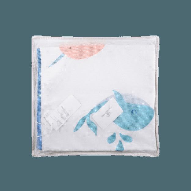 商品详情 - 全棉时代 婴儿梭织印花凉席 120cm×65cm 海洋奇缘1件装 - image  0