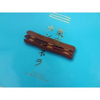 [日本直邮] 日本名菓 东京晴空恋巧 巧克力猫舌饼干(10枚装)