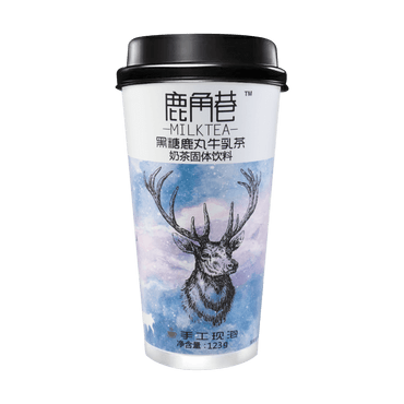 LUJIAOXIANG Black Sugar Milk Tea 123g