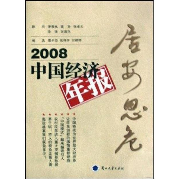 商品详情 - 2008中国经济年报:居安思危 - image  0