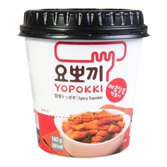 韩国YOPOKKI 辣炒年糕 甜辣味 杯装 140g