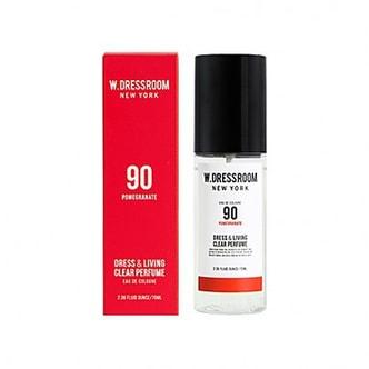 W.DRESSROOM Dress & Living Clear Perfume No.90 (Pomegranate) 70ml