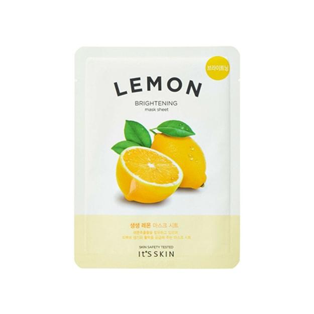 Product Detail - IT\'S SKIN Lemon Brightening Mask Sheet 1pc - image  0
