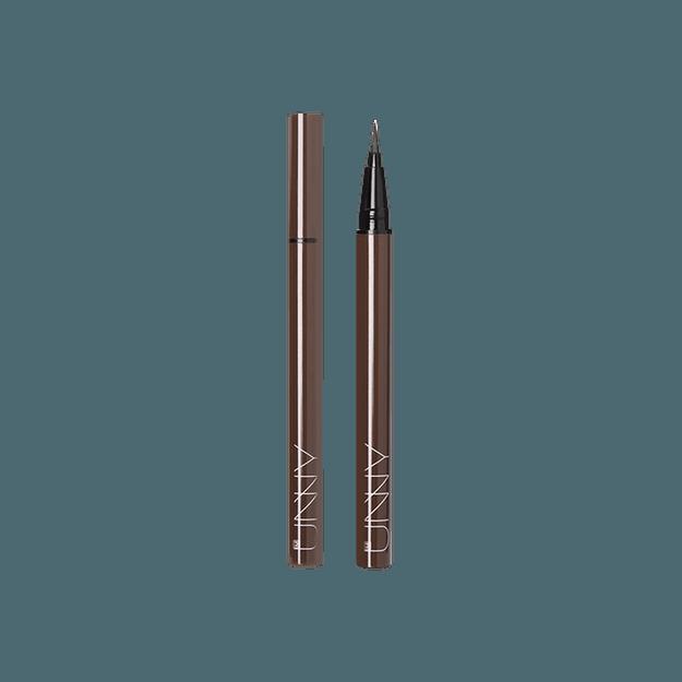 商品详情 - 韩国I\'M UNNY 纤细柔滑眼线液笔 #A02 棕色 - image  0