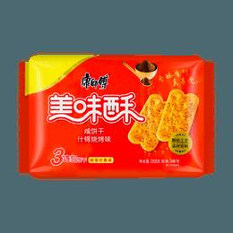 康师傅 美味酥 什锦烧烤味 255g