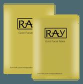 泰国RAY 蚕丝面膜金色修复提亮面膜 10片入