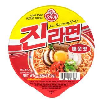 韩国OTTOGI不倒翁 金拉面 辣味 碗装 110g