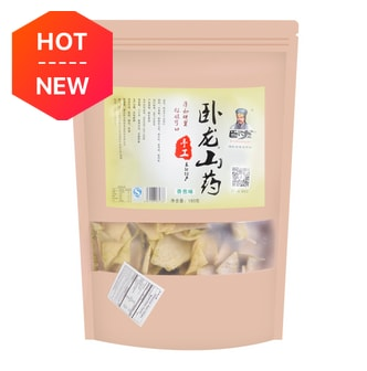 WOLONG Chinese Yam Chips Scallion Flavor 180g