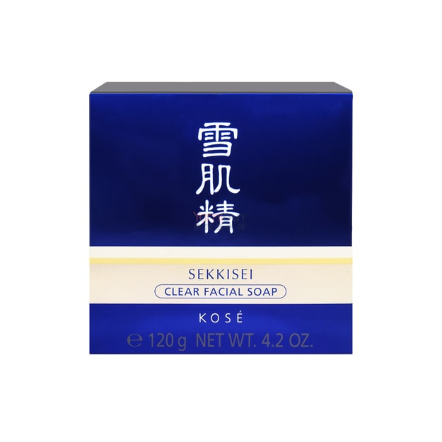 KOSE SEKKISEI Facial Soap Without Case 120g
