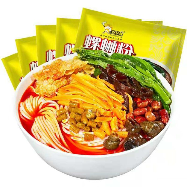 Product Detail - HAOHUANLUO Liuzhou specialty snail lion powder hot and sour powder instant rice noodles 400g - image 0