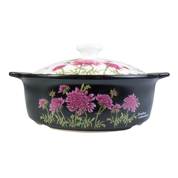 Product Detail - ENGLAND ROYAL STUART Elegant Ceramic Pot Hot Pink; Microwave & Oven Safe  24cm - image 0