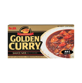 S&B Curry Golden Hot 240g