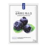 韩国 NO:HJ 超级食物  蓝莓面膜 1片入