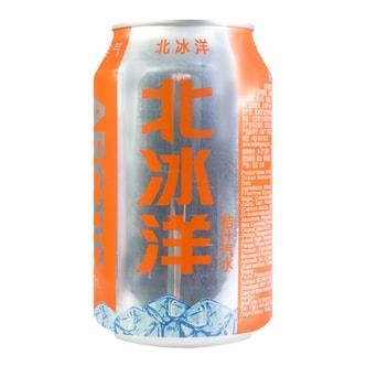 北冰洋 桔汁汽水 罐装 330ml 老北京风味