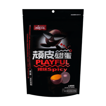 DE DELICIOUS Hard Egg Spicy Flavor 125g