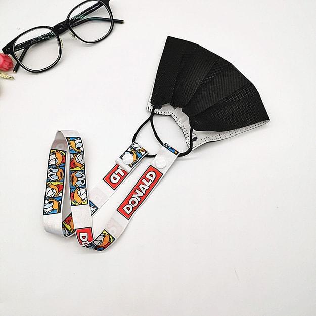 商品详情 - 【中国直邮】MERRYLIFE口罩挂绳防丢神器儿童成人(唐老鸭) - image  0