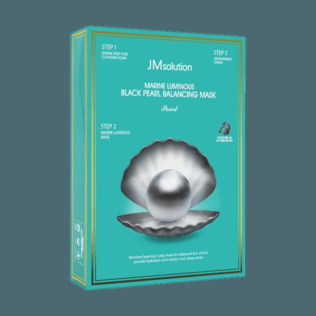 商品详情 - 韩国JM SOLUTION 深海珍秘 黑珍珠平衡面膜 10片入 - image  0