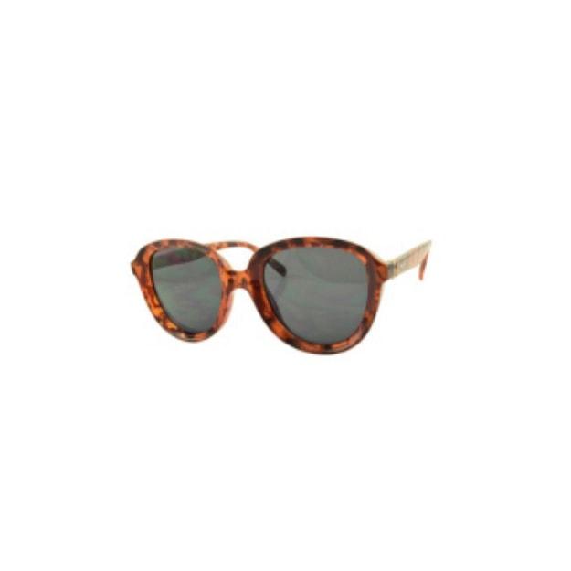Product Detail - RETRO POP Fashion Sunglasses 8058 Havana Frame/Grey Lens - image  0