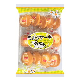 Japanese Mini Milk Cake 166g