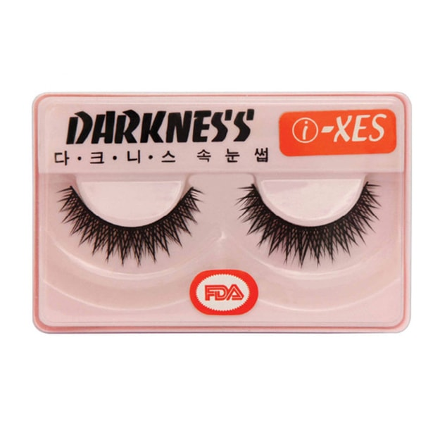 Product Detail - DARKNESS False Eyelashes #IXES 1Pair In 1Box - image 0
