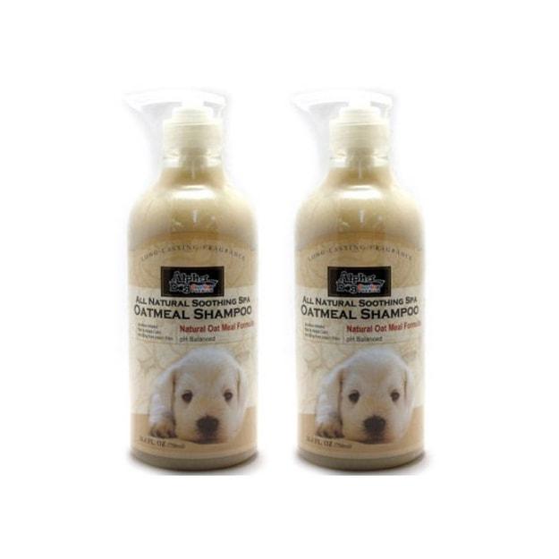 商品详情 - ALPHA DOG SERIES 宠物沐浴露&护毛素 燕麦成分型 二件套 - image  0