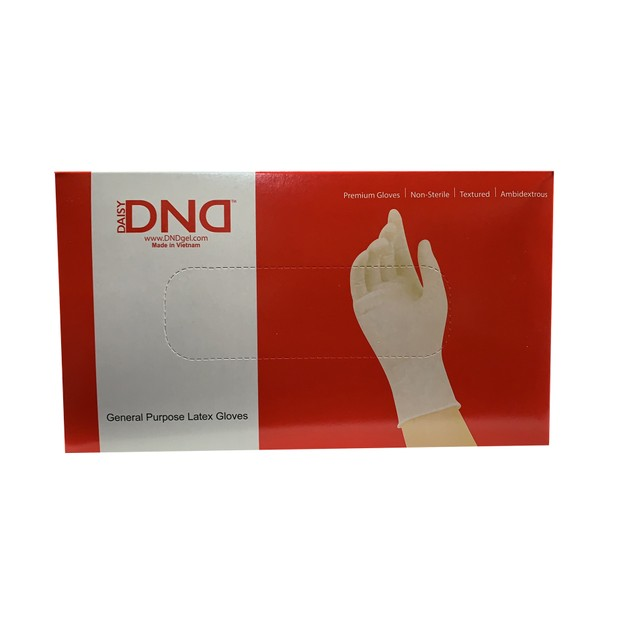 Product Detail - Vietnam Daisy DND General Purpose Latex Disposable Gloves Size L Large 100pcs - image 0
