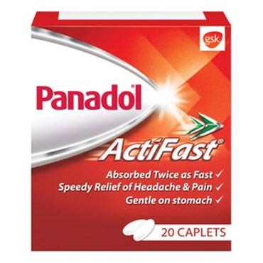 英国 PANADOL 普拿疼 速效药丸 20pcs