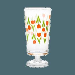 ISHIZUKA GLASS 石塚硝子||ADERIA Retro 复古昭和带脚玻璃杯||郁金香 1个